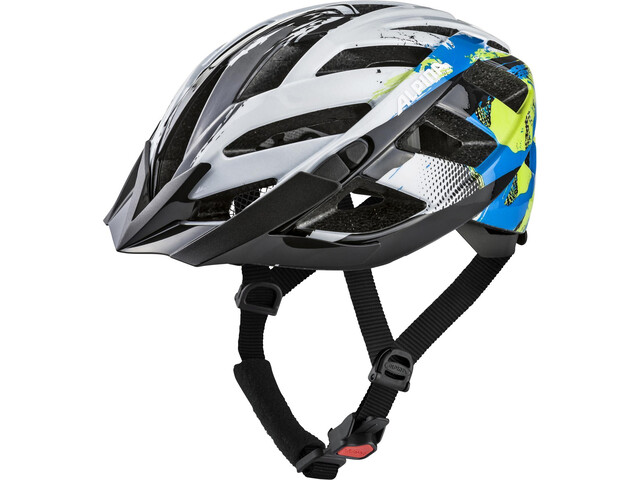 Alpina Panoma 2.0 Helmet white-cyan-green